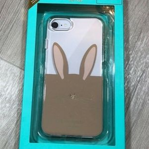 Kate Spade Iphone 7 & 8 Bunny Clear Phone Case